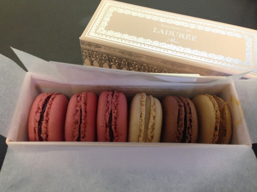 Fun fact: Macarons are my favorite dessert!
